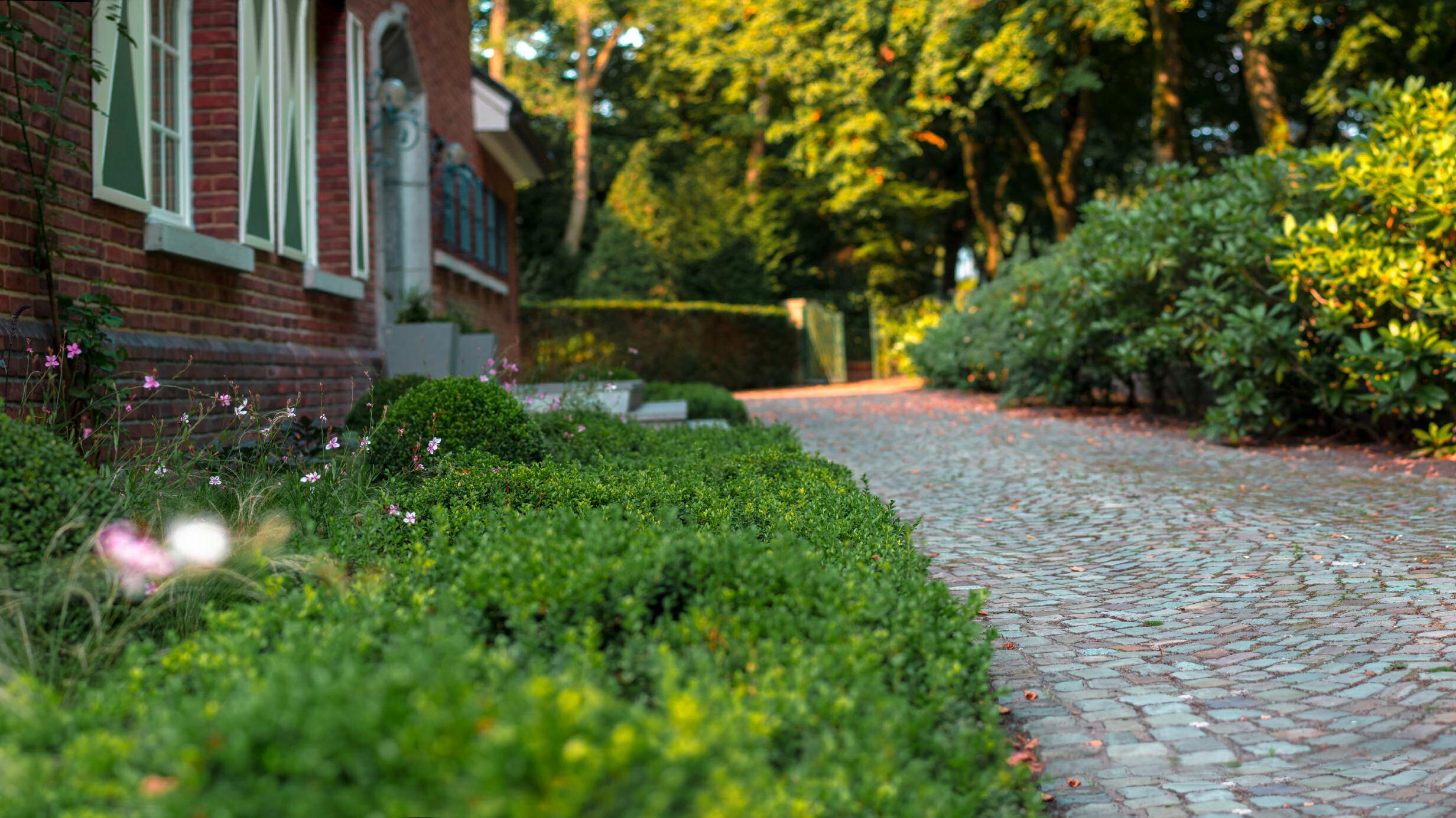 villatuin, tuinrenovatie, stedelijk, tuinontwerp, tuinaanleg